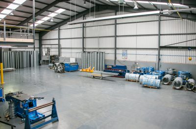 Specialist ventilation contractor market leaders stainless steel coated ductwork | Breffni Air Specialist Ventilation